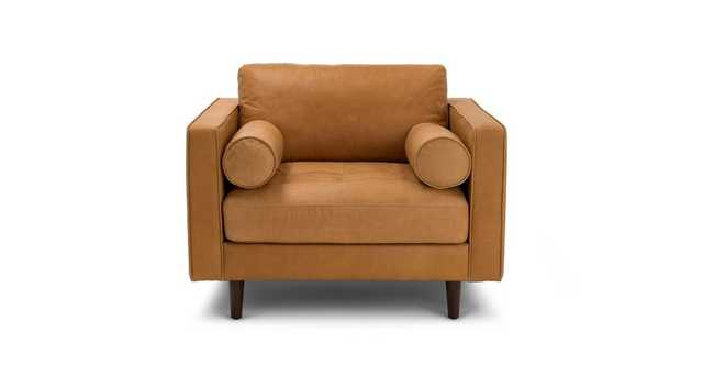 Sven Charme Tan Chair - Article