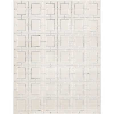 Glam Ivory Area Rug - Wayfair