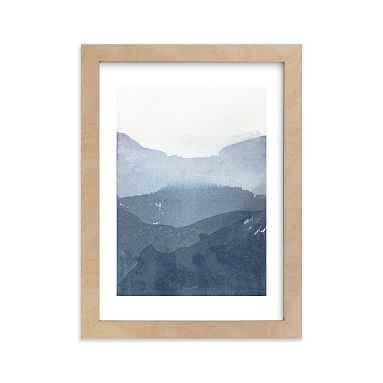 """Sacred Beginning No. 1 Framed Art by Minted(R), 5""""x7"""", Natural - Pottery Barn Teen"""