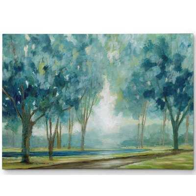 Premium 'Ombre Afternoon' Painting Print on Wrapped Canvas - Wayfair