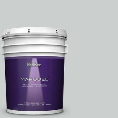 BEHR MARQUEE 5 gal. #720E-2 Light French Gray Eggshell Enamel Interior Paint and Primer in One - Home Depot