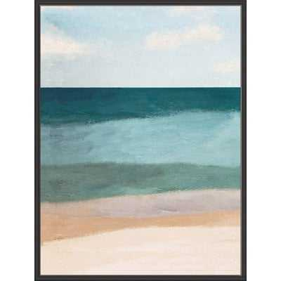 'Ocean View' Framed Graphic Art Print - Wayfair