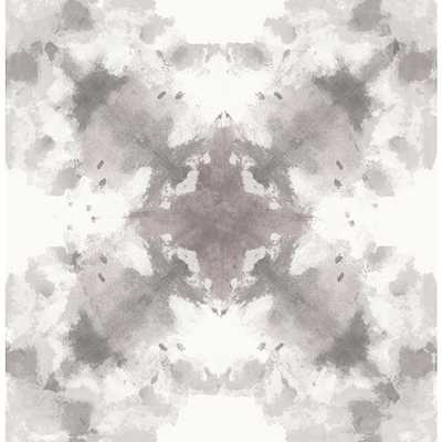 56.4 sq. ft. Mysterious Grey Abstract Wallpaper - Home Depot