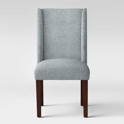 Lowell Modified Wingback Dining Chair Gray - Threshold - Target