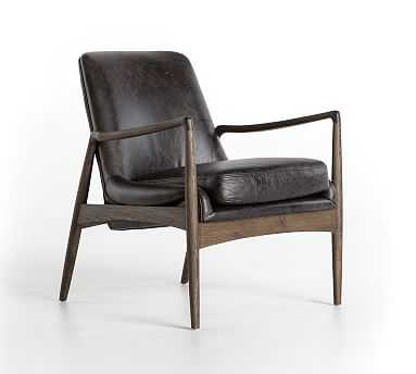 Fairview Leather Armchair - Pottery Barn