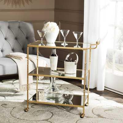 Arabelle Bar Cart - AllModern