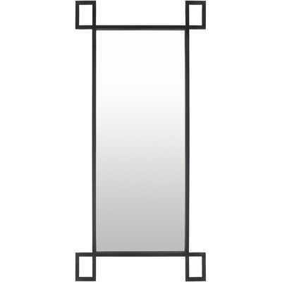 Leila Modern Black Mirror - Wayfair