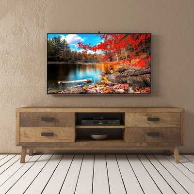 Aguon Solid Wood TV Stand for TVs up to 75 inches - AllModern