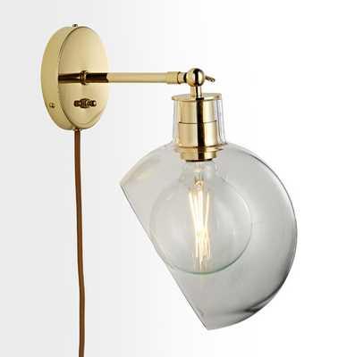 Edendale Angled Articulating Plug-In Sconce - Rejuvenation