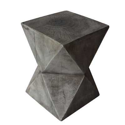 Fern Outdoor Light-Weight Concrete Accent Table - Wayfair