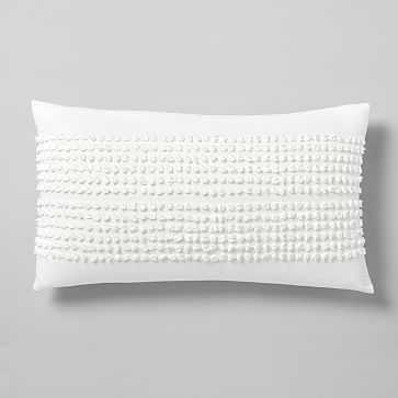 Candlewick King Sham, Stone White - West Elm