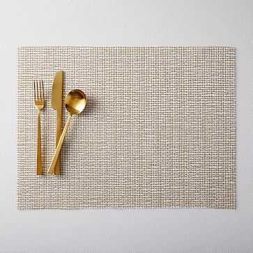Chilewich Beam Placemat, Gold - West Elm