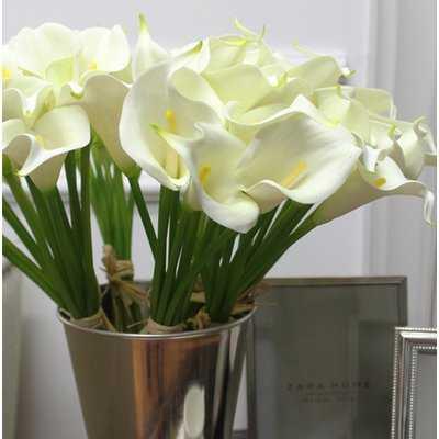 Real Touch Calla Lilie Flower Stem - Birch Lane