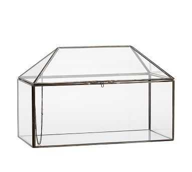 Glass Terrarium, House - Pottery Barn