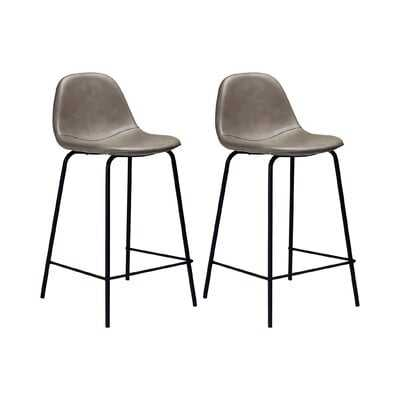 Neil Faux Leather Bar & Counter Stool - AllModern