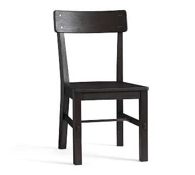 Benchwright Dining Chair, Blackened Oak - Pottery Barn