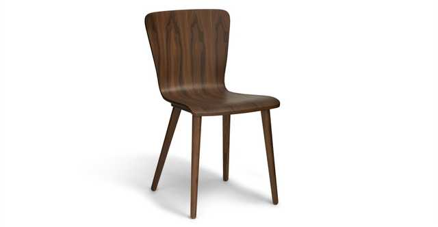 Sede Walnut Dining Chair - set of 2 - Article