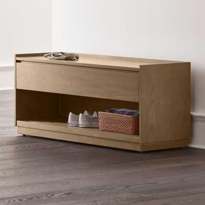 Batten Storage Bench - Crate and Barrel