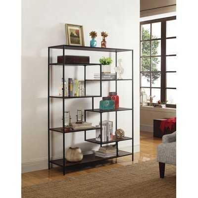 Kimberli Geometric Bookcase - AllModern