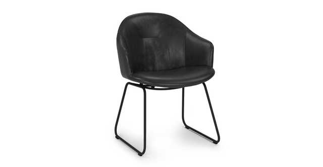 Glove Bella Black Dining Chair - Article