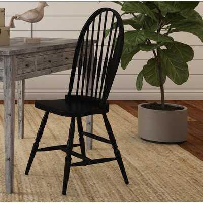 Biermann Solid Wood  Windsor Back Side Chair - Birch Lane