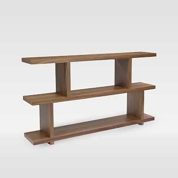 Modern Staggered Shelf, Small - West Elm