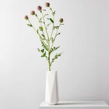Faux Botanicals, Silver Thistle - West Elm