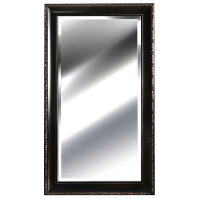 Black Mirror with Embossed Bronze - Wayfair