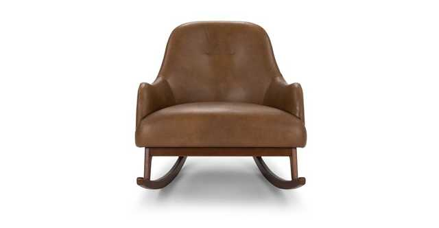 Embrace Bella Tan Rocking Chair - Article