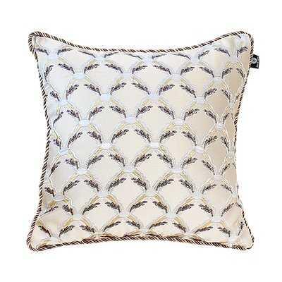 Delrick Traditional Jacquard Pillow Cover - Wayfair