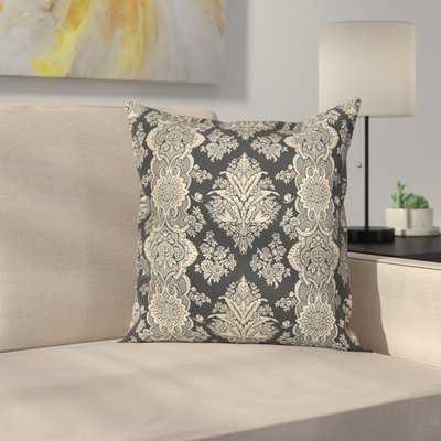 Damask Pillow Cover - Wayfair