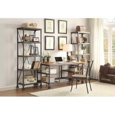Rocklin Etagere Bookcase - Wayfair