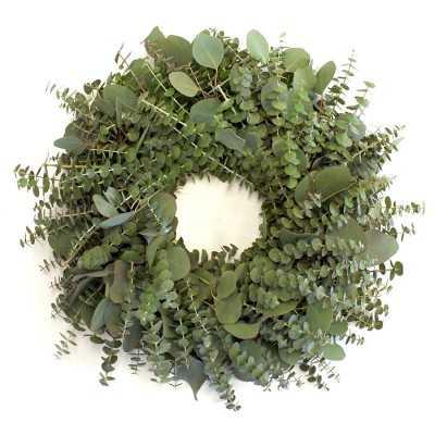 "Eucalyptus Wreath, 20"" - Williams Sonoma"
