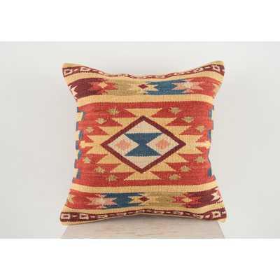 Lodge Wool Throw Pillow - Wayfair