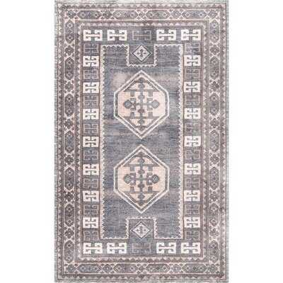 Gatlin Warm Gray Area Rug - Wayfair
