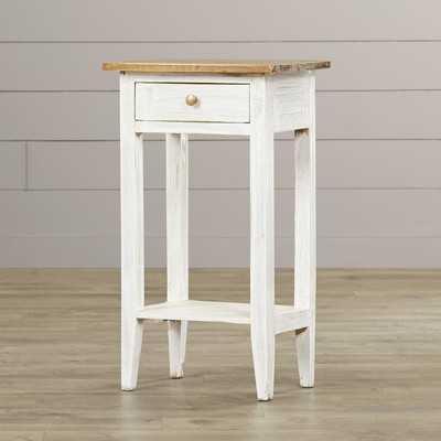 Cusseta End Table With Storage - Wayfair