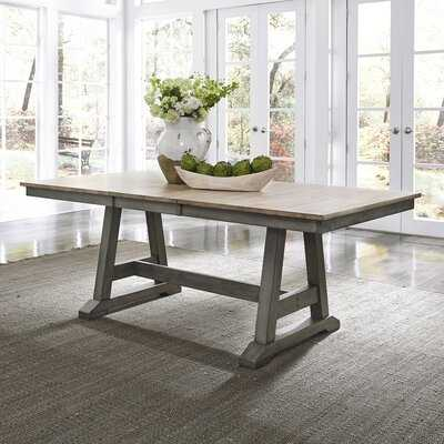 Elias Solid Wood Extendable Dining Table - Birch Lane