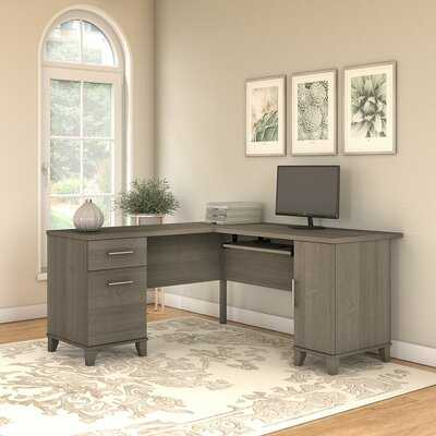 Kirchoff L-Shape Executive desk - Wayfair