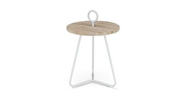 Po White Side Table - Article