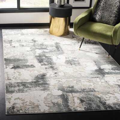 Ellar Beige/Charcoal Area Rug 10x14 - Wayfair