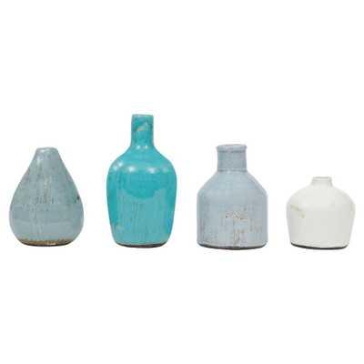 Terra Cotta Vases (Set of 4) - Target