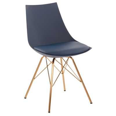 Oakley Chair - Navy (Blue) - Ave-Six - Target