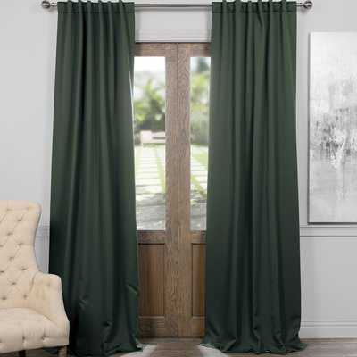 Blackout Curtain Rod Pocket Panel Pair - AllModern