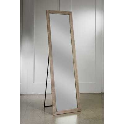 Collis Natural Wood Floor Full Length Mirror - Wayfair