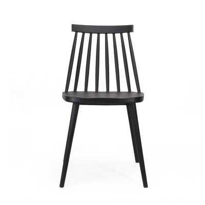 Osblek Farmhouse Spindle-Back Dining Chair (SET OF 2) - Wayfair