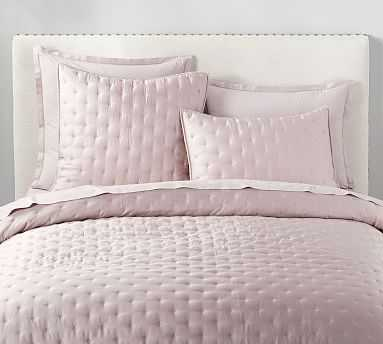 Tencel(TM) Quilt, King/Cal. King, Light Orchid - Pottery Barn