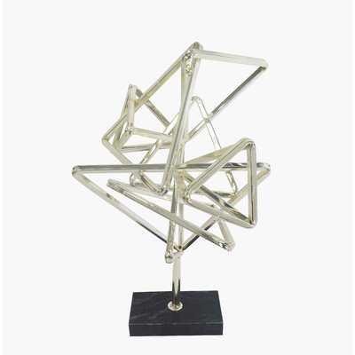 Contemporary Geometry Table Top Décor Sculpture - AllModern