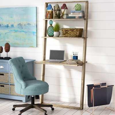 Noelle Solid Wood Leaning/Ladder Desk - Wayfair
