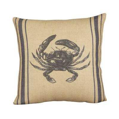 Pleasanton Crab Pillow Cover - Birch Lane