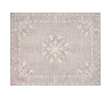 Astrid Rug, 3x5', Dusty Lavender - Pottery Barn Kids